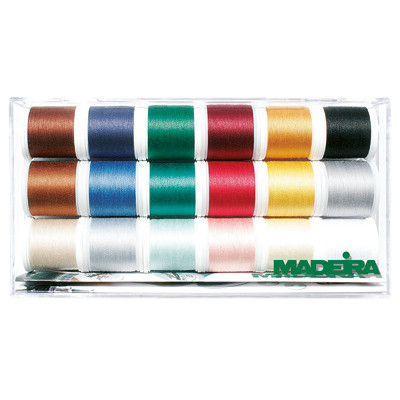 Madeira Poly Variegated 18 Spool Gift Box